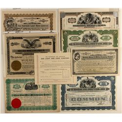 Canadian Stock Certificate Group