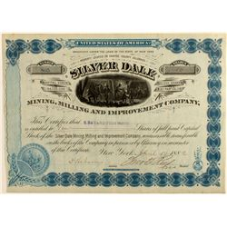 Silver Dale Mining, Milling and Improvement Stock Certificate