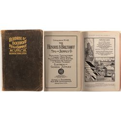 Hendrie & Bolthoff Mfg. and Supply Co. Catalog, No. 48