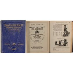 Hendrie & Bolthoff Mfg. and Supply Co. Catalog, No. 150