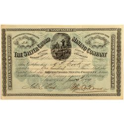 Silver Chord Mining Co. Stock Certificate