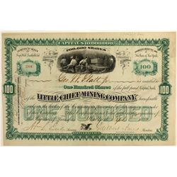 Little Chief Mining Co Stock Certificate