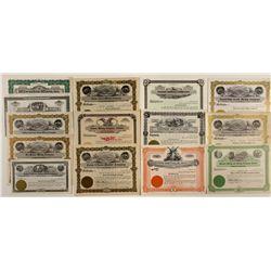 Group of Unissued Idaho Mining Stock Certificates