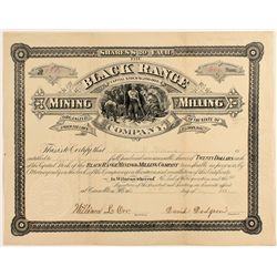 The Black Range Mining and Milling Company Stock