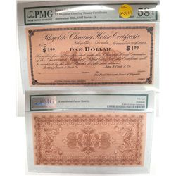 Rhyolite Clearing House Certificate $1.00 Scrip