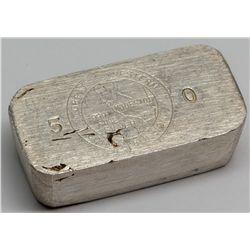Great Western Coin & Bullion Co. Silver Ingot 2