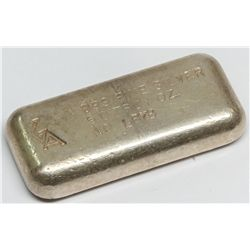 Golden Analytical & Refining Co. Silver Ingot 1