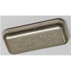 Golden Analytical & Refining Co. Silver Ingot 2