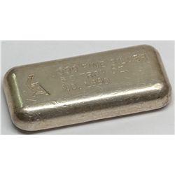 Golden Analytical & Refining Co. Silver Ingot 3