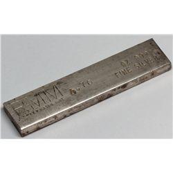 Rocky Mountain Mint Silver Ingot