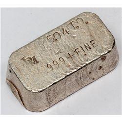 Intermountain Precious Metals Silver Ingot