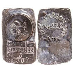 Carson City Mint Ingot 2