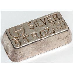 M & B Mining Inc. Silver Ingot 1