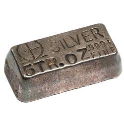 M & B Mining Inc. Silver Ingot 2