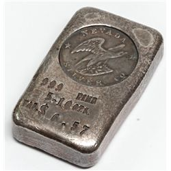 Nevada Silver Mining Co. Silver Ingot 2