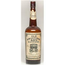 Old J. H. Cutter A. N. #1 Bourbon! (brown bottle)