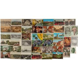 Central and Southern California Wine Postcards