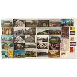 Napa/Sonoma Postcard Collection