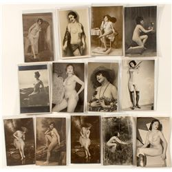 French Nude Real Photo Post Cards