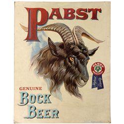 Pabst Blue Ribbon beer broadside