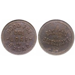 Can Can Restaurant Token