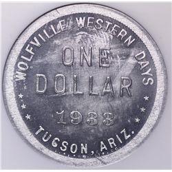 Wolfville Western Days Token