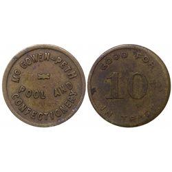 Holbrook, Navajo, McGowen & Peth token