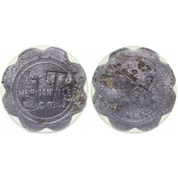Ludlow Mercantile Co. Token