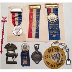 Eagles medals, et al, from West