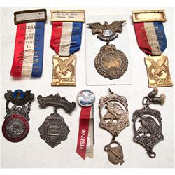 Eagles medals, et al, from West Coast