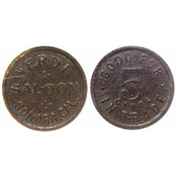Gold Country Saloon Token