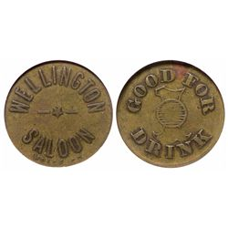 """Hard to come by """"Nevada Saloon Token"""""""