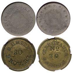 1800's Saloon Pair