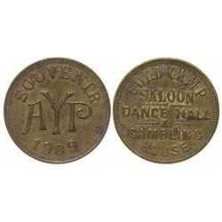 A. Y. O. P. Saloon Token Souvenir