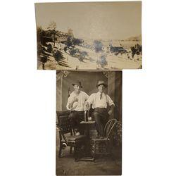 Napa Wine Real Photo Postcards c. 1907-1910