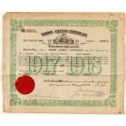 Ohio Saloon License