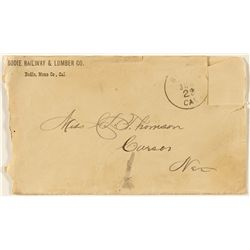 Bodie Railway & Lumber Company Cover