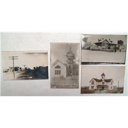Four Lovelock, Nevada Real Photo Post Cards