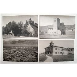Four Ely, Nevada Real Photo Post Cards