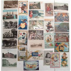 Large Post Card lot. All circa 1910