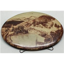 Yankee Doodle Lake Celluloid Piece