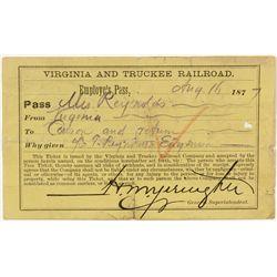 Virginia and Truckee Railroad Pass