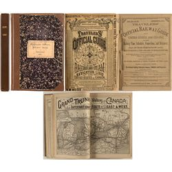 Travelers' Official Railway Guide September, 1887