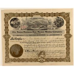 The Nome-Montana-New Mexico Mining Co. Consolidate