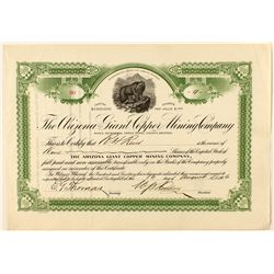 The Arizona Giant Copper Mining Company Stock Certificate