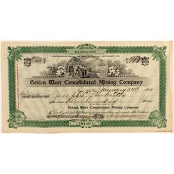 Golden West Consolidated Mining Company