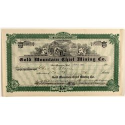 Gold Mountain Chief Mining Co. Stock