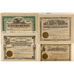 Group of 4 Denver Issued Certificates