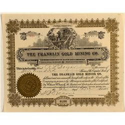 Franklin Gold Mining Co. Stock Certificate