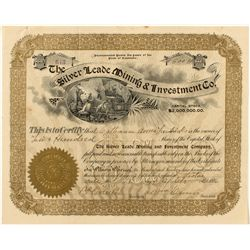 The Silver Leade Mining & Investment Co. Stock Certificate